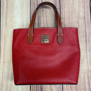 Primary Photo - BRAND: DOONEY AND BOURKE STYLE: HANDBAG DESIGNER COLOR: RED SIZE: SMALL OTHER INFO: WAVERLY MINI W/CROSSBODY AND DUST BAG RT $188 SKU: 257-257100-579
