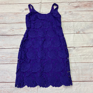 Primary Photo - BRAND: LAUREN BY RALPH LAUREN STYLE: DRESS SHORT SLEEVELESS COLOR: PURPLE SIZE: 8 SKU: 257-25758-979