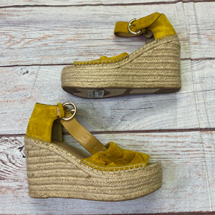 Primary Photo - BRAND: MARC FISHER STYLE: SHOES HIGH HEEL COLOR: YELLOW SIZE: 9 SKU: 257-25781-4741