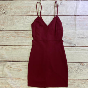 Primary Photo - BRAND: JOE & ELLESTYLE: DRESS SHORT SLEEVELESS COLOR: BURGUNDY SIZE: M SKU: 257-257194-2220