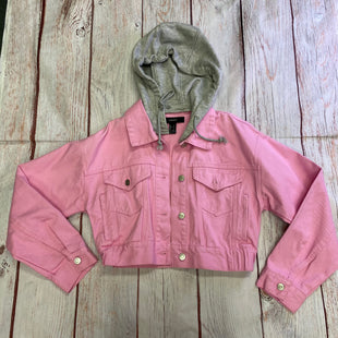 Primary Photo - BRAND: FOREVER 21 STYLE: BLAZER JACKET COLOR: PINK SIZE: S SKU: 257-257198-142