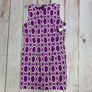Primary Photo - BRAND: ALYX STYLE: DRESS SHORT SLEEVELESS COLOR: PRINT SIZE: 16 OTHER INFO: PURPLE & WHITE SKU: 257-257180-1010