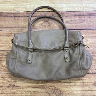 Primary Photo - BRAND: KATE SPADE STYLE: HANDBAG DESIGNER COLOR: TAUPE SIZE: LARGE SKU: 257-25797-800