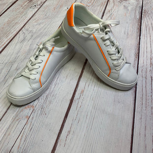 Shoes Athletic By Marc Fisher  Size: 8.5 - BRAND: MARC FISHER STYLE: SHOES ATHLETIC COLOR: WHITE ORANGE SIZE: 8.5 SKU: 257-257194-137