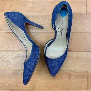 Primary Photo - BRAND: JESSICA SIMPSON STYLE: SHOES HIGH HEEL COLOR: DENIM BLUE SIZE: 7.5 SKU: 257-25774-14558