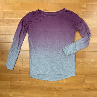 Primary Photo - BRAND: LOU AND GREY BY LOFT STYLE: TOP LONG SLEEVE BASIC COLOR: PURPLE SIZE: XS OTHER INFO: PURPLE & GREY SKU: 257-25748-4398
