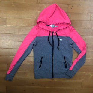 Primary Photo - BRAND: PINK STYLE: ATHLETIC JACKET COLOR: PINKGRAY SIZE: XS SKU: 257-25748-4324