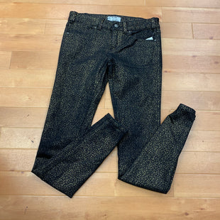 Primary Photo - BRAND: FREE PEOPLE STYLE: JEANS COLOR: BLACK SIZE: 26 OTHER INFO: GOLD PRINT SKU: 257-25748-2853
