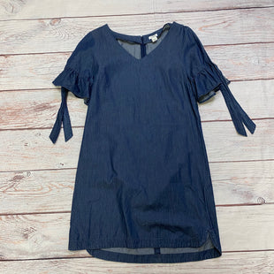 Primary Photo - BRAND: J CREW STYLE: DRESS SHORT SHORT SLEEVE COLOR: DENIM BLUE SIZE: S SKU: 257-25748-7217