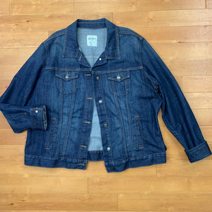 Primary Photo - BRAND: OLD NAVY STYLE: JACKET OUTDOOR COLOR: DENIM SIZE: XXL SKU: 257-25758-399