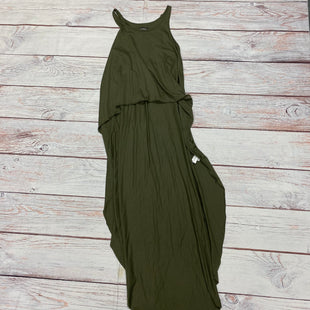 Primary Photo - BRAND: EXPRESS STYLE: TOP SLEEVELESS COLOR: OLIVE SIZE: S OTHER INFO: LONG BACK NWT SKU: 257-257189-17