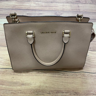 Primary Photo - BRAND: MICHAEL BY MICHAEL KORS STYLE: HANDBAG DESIGNER COLOR: TAN SIZE: LARGE OTHER INFO: SELMA SAFFIANO LEATHER-INSIDE STAINING SKU: 257-25774-16041