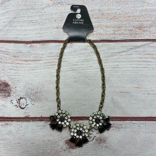 Primary Photo - BRAND: BANANA REPUBLIC STYLE: NECKLACE COLOR: BLACK OTHER INFO: LARGE FLOWERS SKU: 257-25797-1597