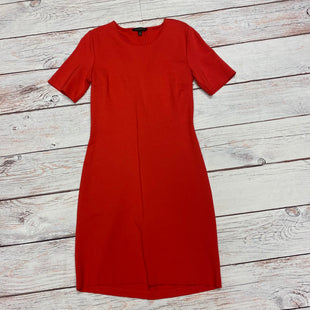 Primary Photo - BRAND: BANANA REPUBLIC STYLE: DRESS SHORT SHORT SLEEVE COLOR: RED SIZE: 10 SKU: 257-257100-347
