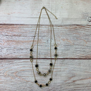 Primary Photo - BRAND:    CLOTHES MENTOR STYLE: NECKLACE COLOR: BLACK SILVER OTHER INFO: DOUBLE NECKLACE; BLACK AND SILVER CIRCLES SKU: 257-257194-2230