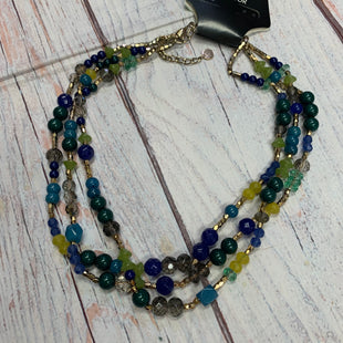 Primary Photo - BRAND: TALBOTS STYLE: NECKLACE COLOR: BLUE GREEN OTHER INFO: GREEN/TEAL/BLUE/BRONZE SKU: 257-257100-1441