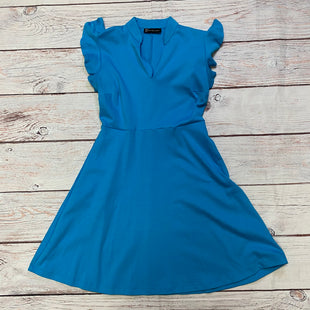 Primary Photo - BRAND: NEW YORK AND CO STYLE: DRESS SHORT SHORT SLEEVE COLOR: BLUE SIZE: S OTHER INFO: NEW! SKU: 257-257183-950