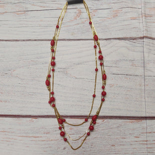 Primary Photo - BRAND:    CLOTHES MENTOR STYLE: NECKLACE COLOR: RED SKU: 257-257194-2286