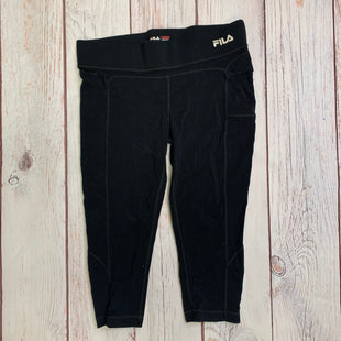 Athletic Capris By Fila  Size: M - BRAND: FILA STYLE: ATHLETIC CAPRIS COLOR: BLACK SIZE: M SKU: 257-25774-15769