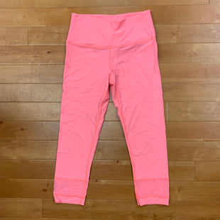 Athletic Capris By Victorias Secret  Size: M - BRAND: VICTORIAS SECRET STYLE: ATHLETIC CAPRIS COLOR: HOT PINK SIZE: M OTHER INFO: MESH LEG CUFF SKU: 257-257100-677