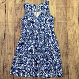 Primary Photo - BRAND: MILLY STYLE: DRESS SHORT SLEEVELESS COLOR: PAISLEY SIZE: L OTHER INFO: BLUE AND WHITE SKU: 257-257194-145