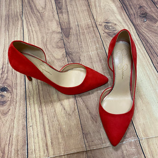 Primary Photo - BRAND: JESSICA SIMPSON STYLE: SHOES HIGH HEEL COLOR: RED SIZE: 9 SKU: 257-25750-386