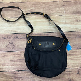 Primary Photo - BRAND: MARC BY MARC JACOBS STYLE: HANDBAG DESIGNER COLOR: BLACK SIZE: MEDIUM OTHER INFO: CIRCULAR, GOLD ZIPPER SKU: 257-25748-6419