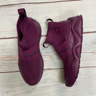 Shoes Athletic By Champion  Size: 10 - BRAND: CHAMPION STYLE: SHOES ATHLETIC COLOR: PURPLE SIZE: 10 SKU: 257-25774-16224