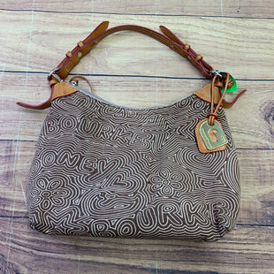 Primary Photo - BRAND: DOONEY AND BOURKE STYLE: HANDBAG DESIGNER COLOR: BROWN SIZE: MEDIUM SKU: 257-257100-2427