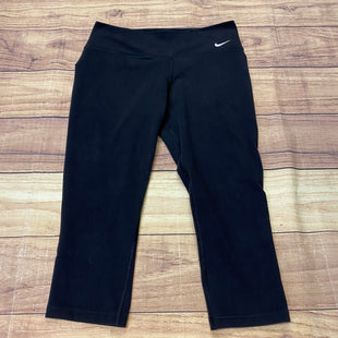Primary Photo - BRAND: NIKE STYLE: ATHLETIC CAPRIS COLOR: BLACK SIZE: M SKU: 257-25758-641
