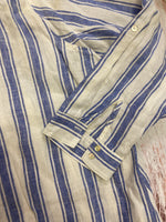 Photo #1 - BRAND: TAHARI <BR>STYLE: BLOUSE <BR>COLOR: STRIPED <BR>SIZE: 3X <BR>OTHER INFO: BLUE AND WHITE STRIPED <BR>SKU: 257-257194-336