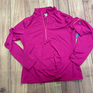 Athletic Jacket By Lilly Pulitzer  Size: L - BRAND: LILLY PULITZER STYLE: ATHLETIC JACKET COLOR: PINK SIZE: L OTHER INFO: SLEEVE POCKET SKU: 257-257103-77