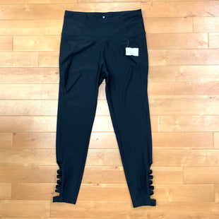 Athletic Pants By Apana  Size: M - BRAND: APANA STYLE: ATHLETIC PANTS COLOR: BLACK SIZE: M OTHER INFO: OPEN SIDE SKU: 257-257176-428