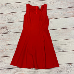 Primary Photo - BRAND: H&M STYLE: DRESS SHORT SLEEVELESS COLOR: RED SIZE: M SKU: 257-257180-1928