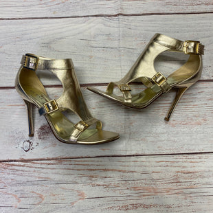 Primary Photo - BRAND: GUESS STYLE: SHOES HIGH HEEL COLOR: GOLD SIZE: 7.5 SKU: 257-257100-761