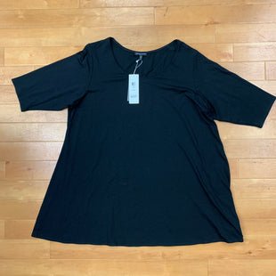 Primary Photo - BRAND: EILEEN FISHER STYLE: TOP LONG SLEEVE COLOR: BLACK SIZE: 2X OTHER INFO: NEW! SKU: 257-25774-15628