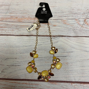 Primary Photo - BRAND: MACYSSTYLE: NECKLACE COLOR: YELLOW OTHER INFO: NEW! MACYS TAG SKU: 257-257100-692