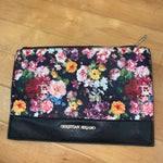 Primary Photo - BRAND: CHRISTIAN SIRIANO <BR>STYLE: CLUTCH <BR>COLOR: FLORAL <BR>OTHER INFO: BLACK W/FLOWERS <BR>SKU: 257-257180-1186