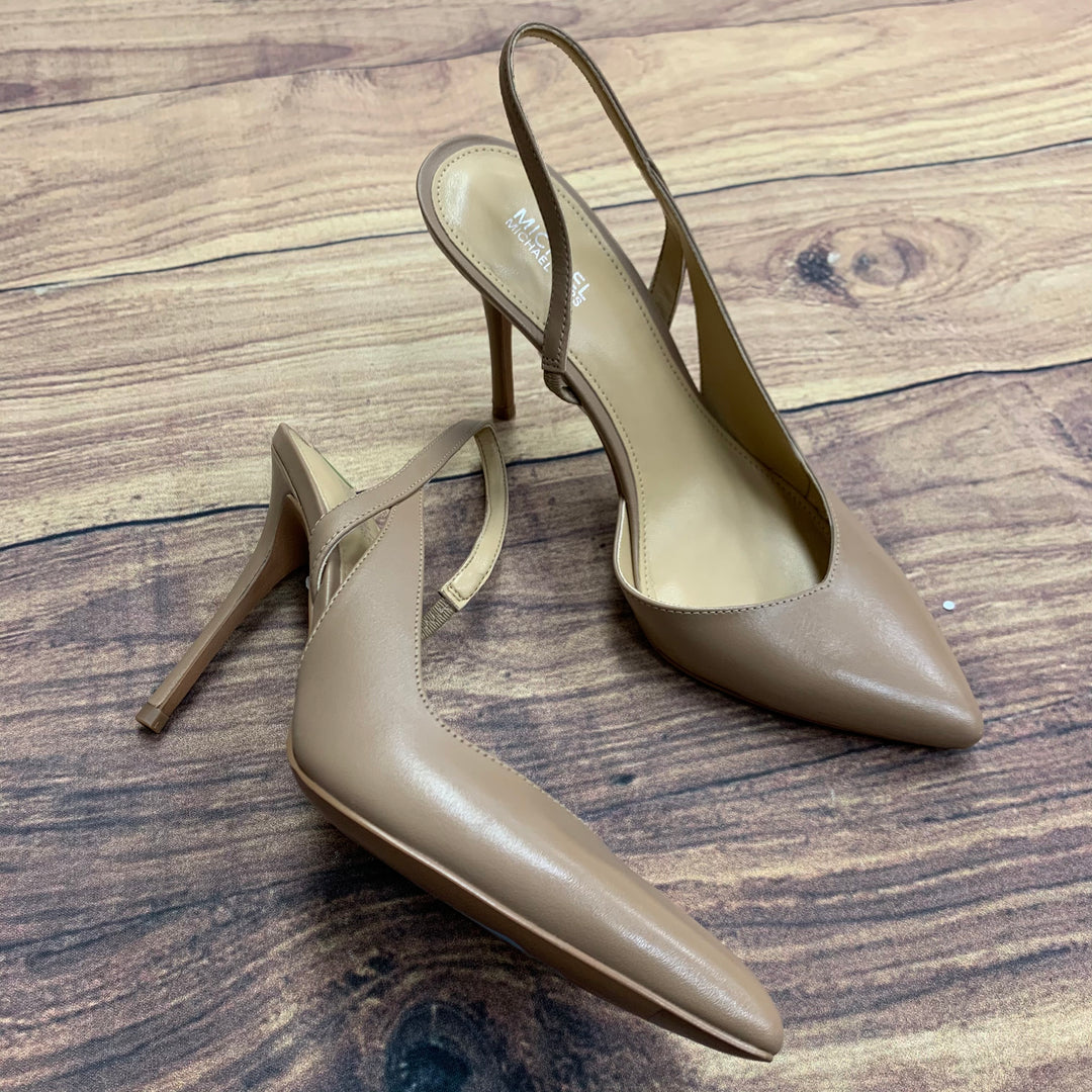Primary Photo - BRAND: MICHAEL KORS <BR>STYLE: SHOES HIGH HEEL <BR>COLOR: TAN <BR>SIZE: 6.5 <BR>SKU: 257-257101-37