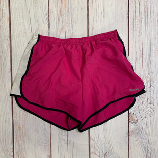 Athletic Shorts By Reebok  Size: M - BRAND: REEBOK STYLE: ATHLETIC SHORTS COLOR: PINK SIZE: M SKU: 257-257189-376