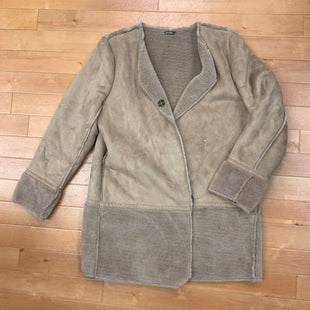 Coat Short By Jmclaughlin  Size: Xl - BRAND: JMCLAUGHLIN STYLE: COAT SHORT COLOR: TAN SIZE: XL SKU: 257-25748-4741