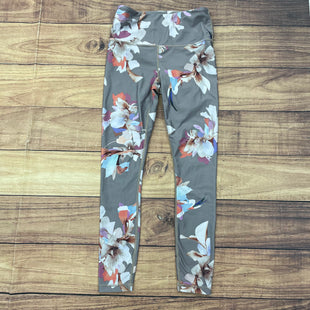 Primary Photo - BRAND: ATHLETA STYLE: ATHLETIC CAPRIS COLOR: GREY SIZE: XS OTHER INFO: FLORAL PRINT SKU: 257-257108-38