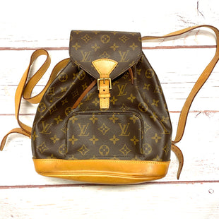 Primary Photo - BRAND: LOUIS VUITTON STYLE: HANDBAG DESIGNER COLOR: BROWN SIZE: SMALL OTHER INFO: 1999 MONTSOURIS MM BACKPACK RT $1100 SKU: 257-257103-917