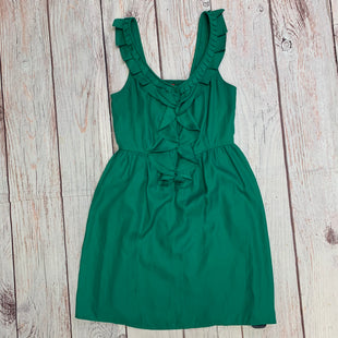 Primary Photo - BRAND: ELLE STYLE: DRESS SHORT SLEEVELESS COLOR: GREEN SIZE: XS OTHER INFO: RUFFLE NECKLINE SKU: 257-257194-1651