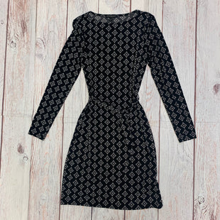 Primary Photo - BRAND: BANANA REPUBLIC STYLE: DRESS SHORT LONG SLEEVE COLOR: BLACK WHITE SIZE: S OTHER INFO: BLACK WITH WHITE SQUARES SKU: 257-25758-1103