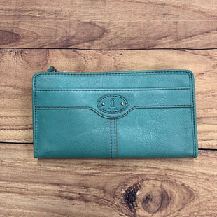 Primary Photo - BRAND: FOSSIL STYLE: WALLET COLOR: AQUA SIZE: LARGE SKU: 257-25786-5584