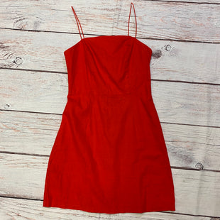 Primary Photo - BRAND: URBAN OUTFITTERS STYLE: DRESS SHORT SLEEVELESS COLOR: RED SIZE: 2 SKU: 257-257179-663