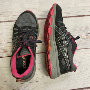 Primary Photo - BRAND: ASICS STYLE: SHOES ATHLETIC COLOR: GREY SIZE: 9 OTHER INFO: GREY AND PINK SKU: 257-257194-406