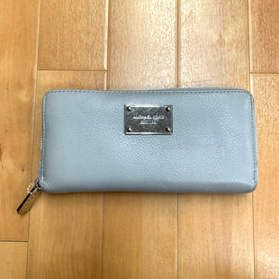 Wallet By Michael By Michael Kors  Size: Large - BRAND: MICHAEL BY MICHAEL KORS STYLE: WALLET COLOR: GREY SIZE: LARGE OTHER INFO: CONTINENTAL ZIP W/ SLIGHT WEAR SKU: 257-25786-5401