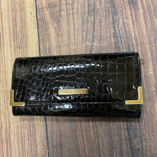 Primary Photo - BRAND: MICHAEL BY MICHAEL KORS STYLE: WALLET COLOR: BLACK SIZE: MEDIUM OTHER INFO: PATENT LEATHER/GOLD SKU: 257-25774-16400